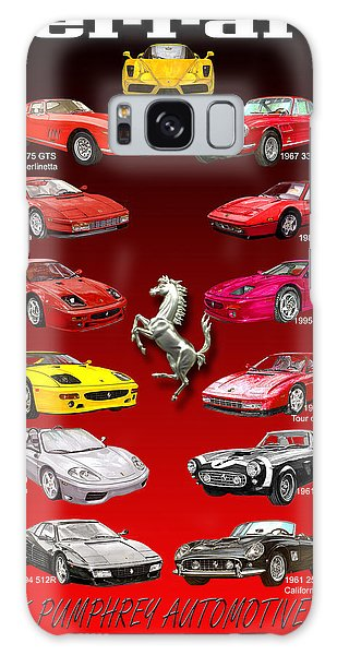 Ferrari Poster  Galaxy Case
