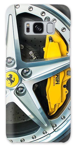 Ferrari Wheel 3 Galaxy Case
