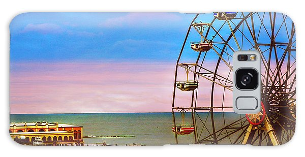Ocean City New Jersey Ferris Wheel And Music Pier Galaxy Case