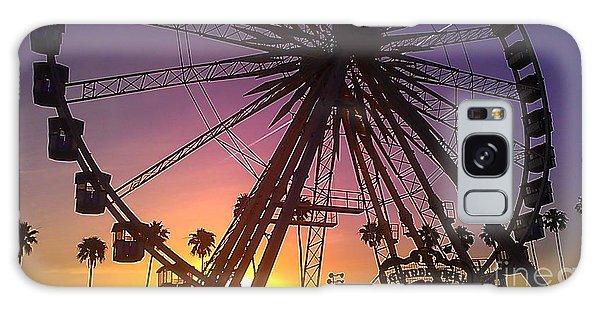 Ferris Wheel Galaxy Case