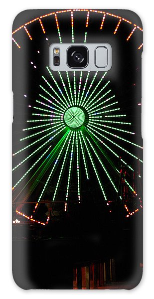 Ferris Wheel Christmas Tree Galaxy Case by Greg Graham