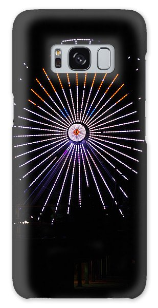 Ferris Wheel Santa Galaxy Case by Greg Graham