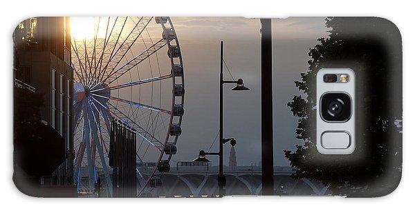 Ferris Wheel Sunset 1 Galaxy Case