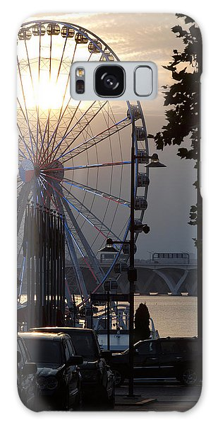 Ferris Wheel Sunset 2 Galaxy Case
