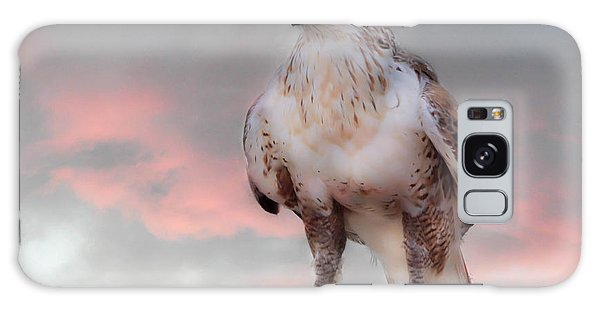 Ferruginous Hawk At Dusk Galaxy Case