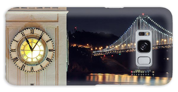 Ferry Building And Bay Bridge Galaxy Case