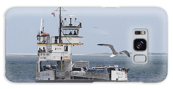 Conyers Galaxy Case - Ferry To Ocracoke 4 by Cathy Lindsey