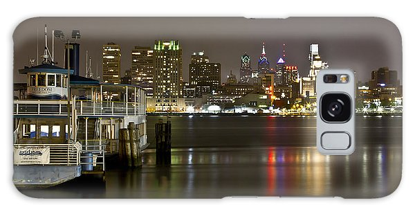 Ferry To The City Of Brotherly Love Galaxy Case