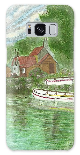 Ferryman's Cottage Galaxy Case by Tracey Williams