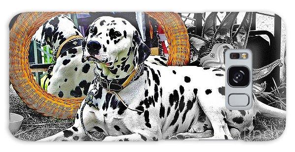 Festival Dog Galaxy Case by Blair Stuart