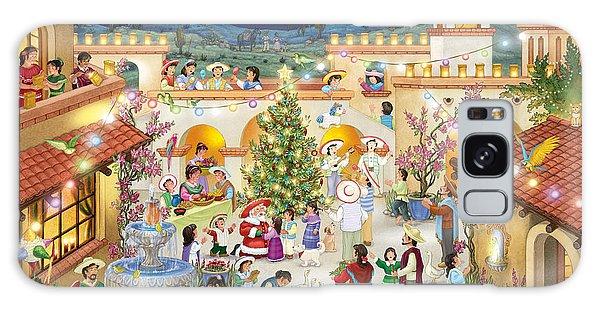 Festival Espanol De Navidad Galaxy Case