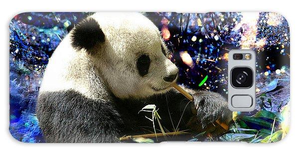 Festive Panda Galaxy Case