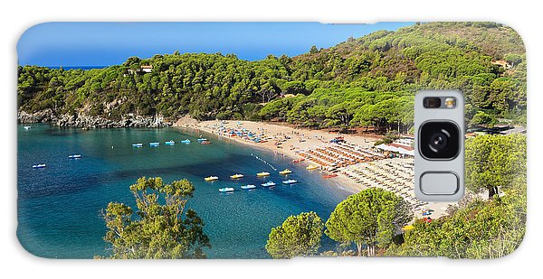 Fetovaia Beach - Elba Island Galaxy Case