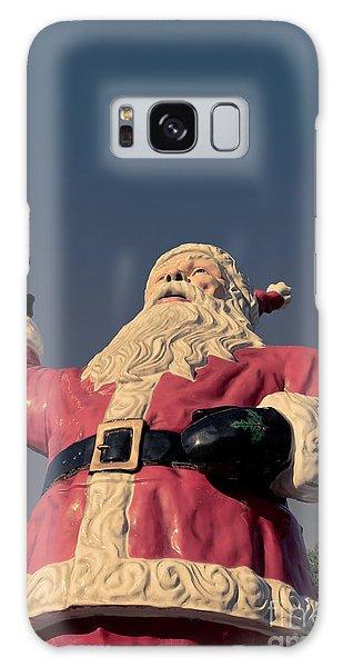 Santa Claus Galaxy Case - Fiberglass Santa Claus by Edward Fielding