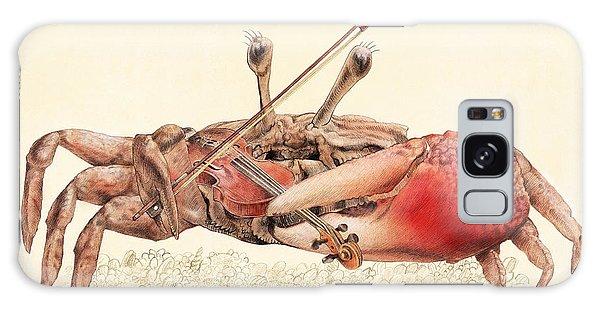 Violin Galaxy Case - Fiddler Crab by Eric Fan