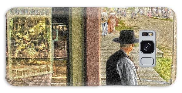 Fiddler On The Street Galaxy Case