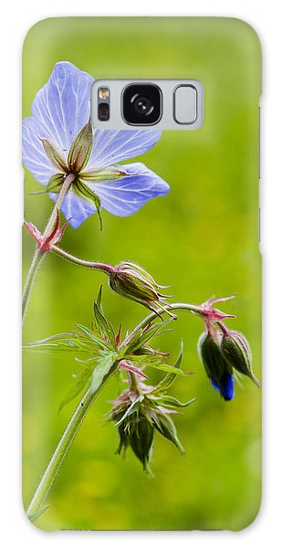 Field Geranium Galaxy Case