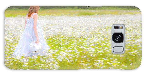 Field Of Dreams Galaxy Case by Theresa Tahara