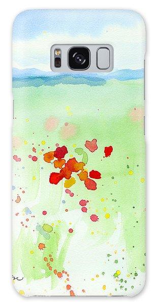 Field Of Flowers 2 Galaxy Case by C Sitton