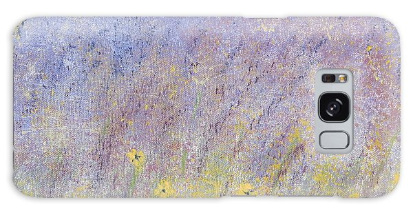 Field Of Flowers Galaxy Case by Tim Townsend