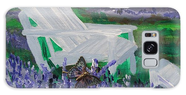 Field Of Lavender  Galaxy Case