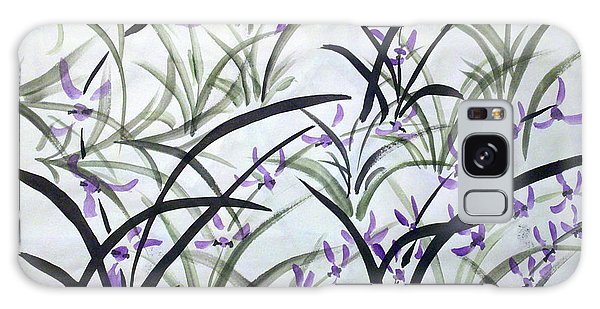 Field Of Orchids Galaxy Case