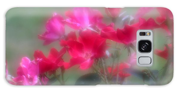 Field Of Roses Galaxy Case by Mary Lou Chmura