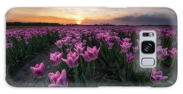 Tulip Galaxy S8 Case - Field Of Tulips by Amada Terradillos S.