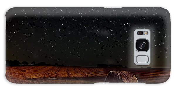 Fields At Night Galaxy Case