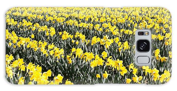 Fields Of Daffodils  Galaxy Case