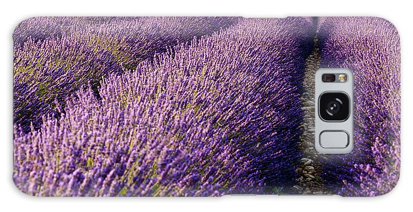 Fields Of Lavender Galaxy Case