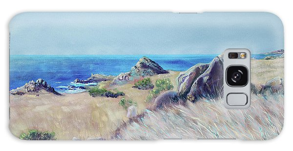 Fields With Rocks And Sea Galaxy Case