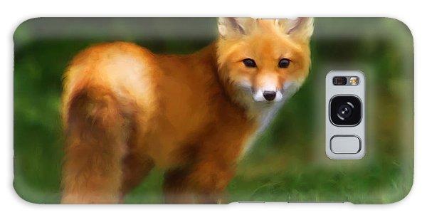 Fiery Fox Galaxy Case