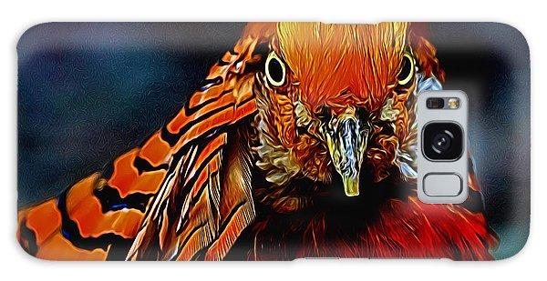 Fiery Pheasant Galaxy Case