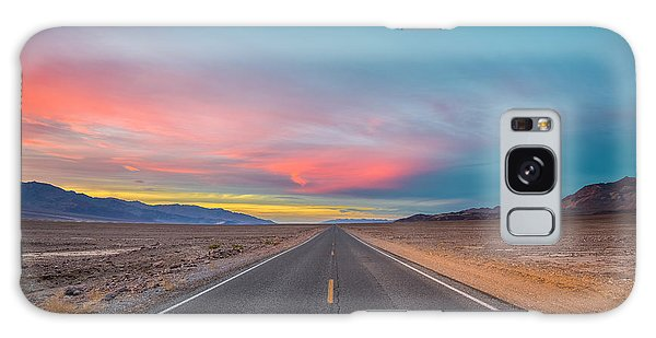 Fiery Road Though The Valley Of Death Galaxy Case
