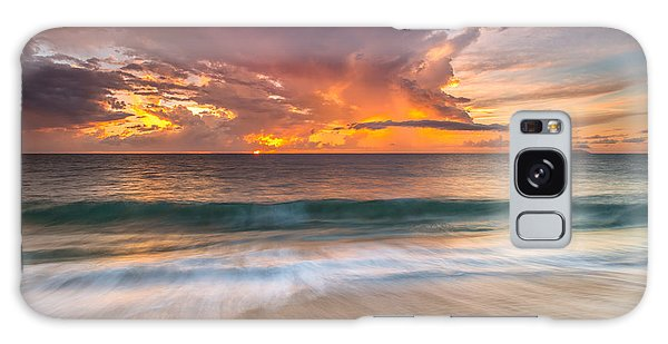 Fiery Skies Azure Waters Rendezvous Galaxy Case