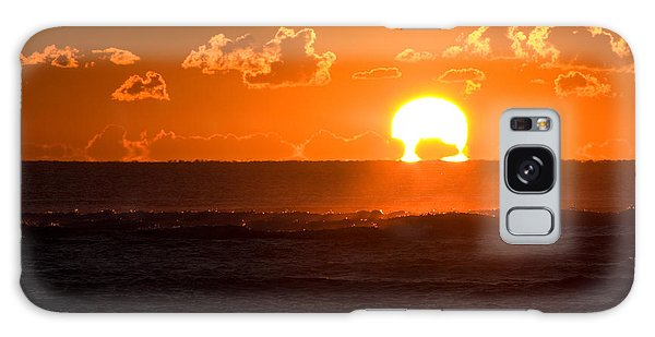 Fiery Sunrise Galaxy Case by Greg Graham