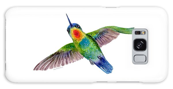 Fiery-throated Hummingbird Galaxy Case
