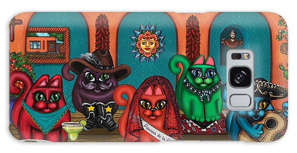 Fiesta Cats II Galaxy Case