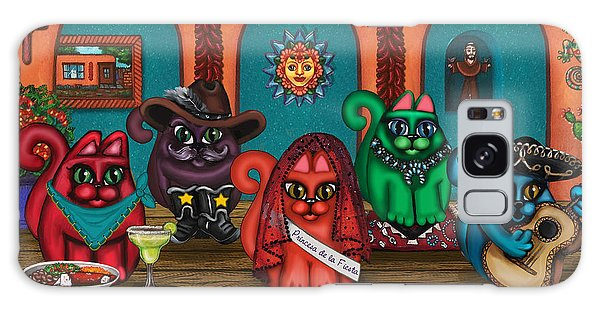 Fiesta Cats II Galaxy Case