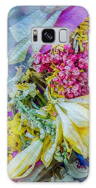 Fiesta In Blue Galaxy Case by Susan Cole Kelly Impressions