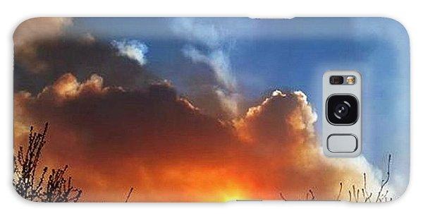 Fiesta In The Sky.. Galaxy Case by Cristina Mihailescu