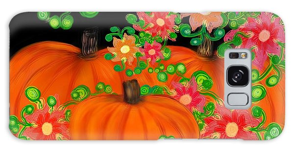 Fiesta Pumpkins Galaxy Case