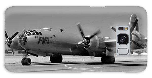 Fifi.  Enola Gay's B29 Superfortress Sister Visits Modesto Kmod. Galaxy Case
