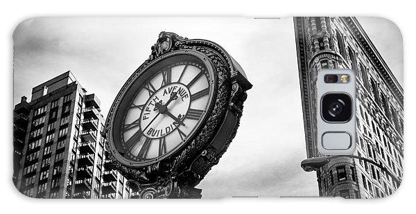 Fifth Avenue Building Clock Galaxy Case