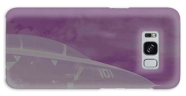 Fighter Jet And A Storm Galaxy Case by Carolina Liechtenstein