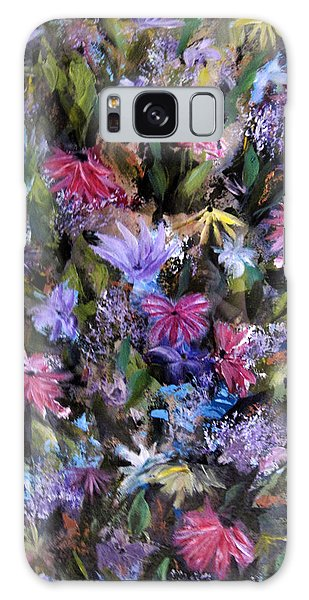 Fighting For Space Lll Flowerpatch Series Galaxy Case