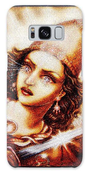 Fighting Goddess 2 Galaxy Case by Ananda Vdovic