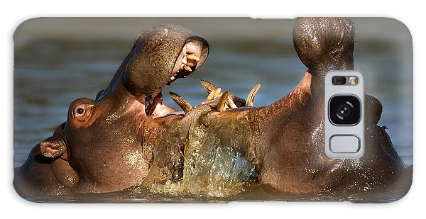 Behaviour Galaxy Case - Fighting Hippo's by Johan Swanepoel