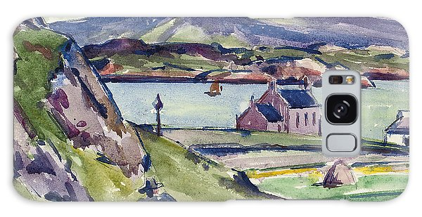 Place Of Worship Galaxy Case - Figure And Kirk   Iona by Francis Campbell Boileau Cadell